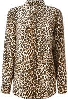 Equipment leopard print shirt - women - Silk - S