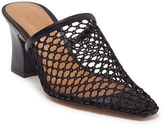 Who What Wear Skye Fishnet Mule