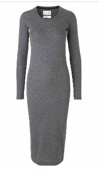 Libertine-Libertine Grey Dash Long Dress - XS - Grey