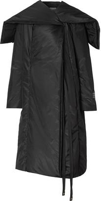 Burberry Cape Detail Coat
