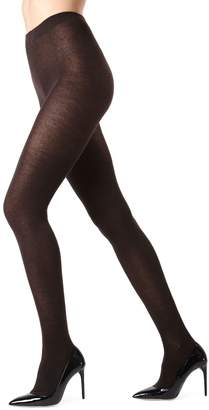 Me Moi Memoi Flat-Knit Tights