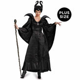 Asstd National Brand Maleficent Deluxe Christening Gown Disney Princess 3-pc. Dress Up Costume