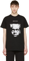 Hood by Air Black wench Laura Face T-shirt