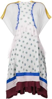 Valentino Bouquet Print Dress