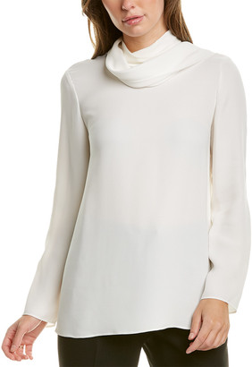 Lafayette 148 New York Joy Silk Blouse