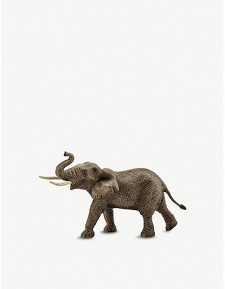 Selfridges African elephant male toy figure 19.5cm