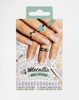Beauty Extras Metallic Nail Tattoos