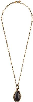 Alexander McQueen Garnet Stone Necklace