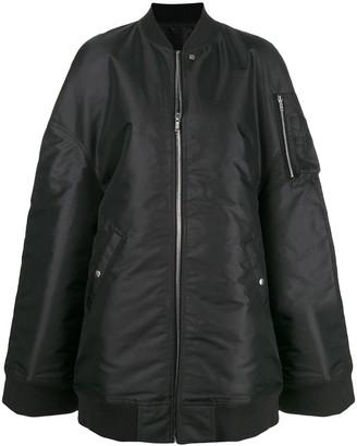 Rick Owens Oversized Bomber Jacket