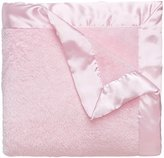 Elegant Baby Ultra Plush Blanket, Satin Border Blanket 36 x 45 Inch in Pastel Pink by