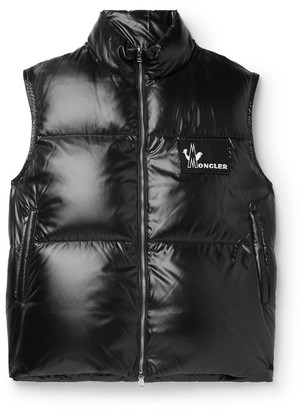 Moncler Banker Slim-Fit Quilted Shell Down Gilet