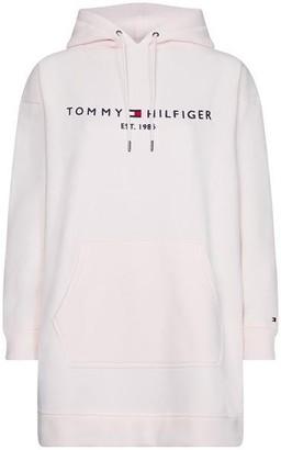 Tommy Hilfiger Essential Logo Hoodie Dress