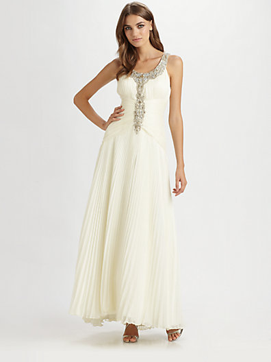 Sue Wong Beaded Gown