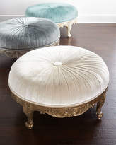 Scala Massoud Light Round Ottoman