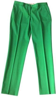 Michael Kors Green Wool Trousers