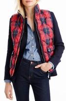J.Crew Women's Excursion Tartan Vest