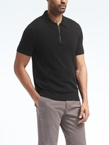 Banana Republic Half-zip Sweater Polo