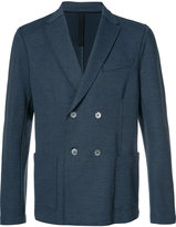 Harris Wharf London - double breasted blazer - men - Cotton/Polyamide/Polyester/Spandex/Elastane - 52