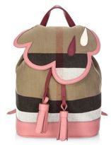 Burberry Check Cloud Mini Backpack