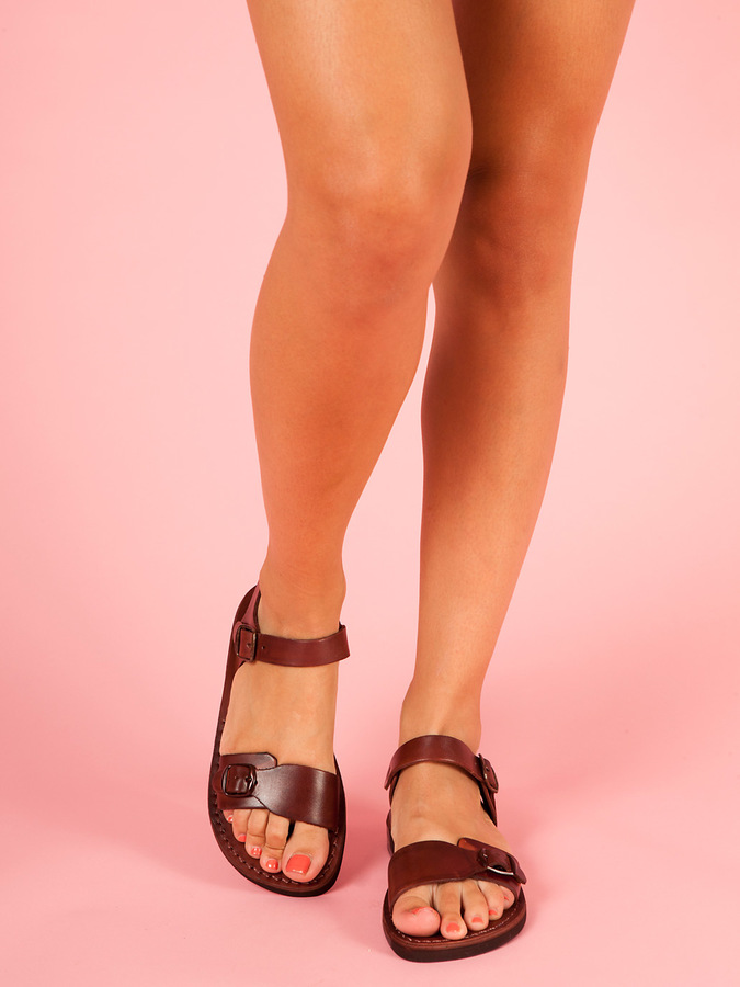 American Apparel Womens Original Jerusalem Sandal