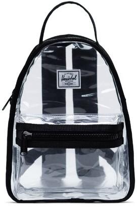 Herschel Mini Nova Clear Backpack Black
