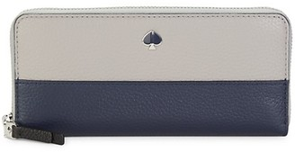 Kate Spade Slim Continental Leather Wallet