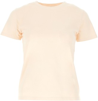 A.P.C. Logo Embroidered T-Shirt