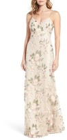 Jenny Yoo Women's Julianna Embroidered Gown