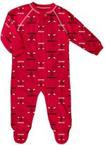 adidas Baby Chicago Bulls Logo Footed Pajamas