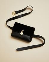 Ted Baker Leather Padlock Detail Belt Bag
