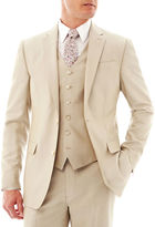 Jf J.Ferrar JF Khaki Shimmer Shark Suit Jacket - Slim Fit
