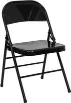 Flash Furniture HERCULES Series Triple Braced & Double Hinged Metal Folding Chair
