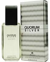 Antonio Puig Quorum Silver For Men. Eau De Toilette Spray 3.4 OZ