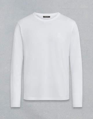 Belstaff LONG SLEEVED T-SHIRT White