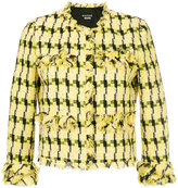 Moschino tweed jacket - women - Cotton/Acrylic/Polyamide/other fibers - 40