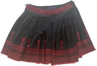 Meadham Kirchhoff Black Cloth Shorts