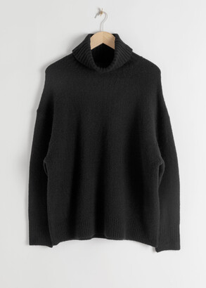 And other stories Slouchy Oversized Turtleneck Sweater