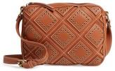 Shiraleah Skylar Faux Leather Crossbody Bag - Brown