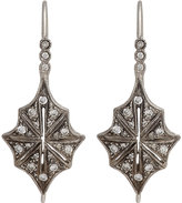 Cathy Waterman Women's Star Drop Earrings