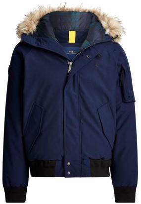 Polo Ralph Lauren Faux Fur-Trim Bomber Jacket