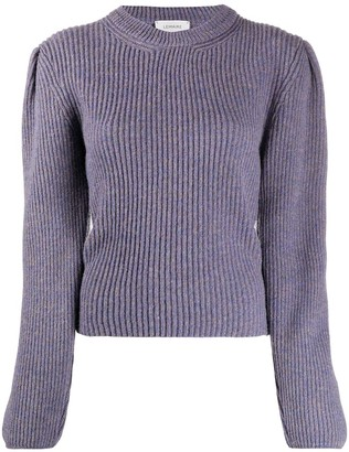 Lemaire Long-Sleeved Cable Knit Jumper