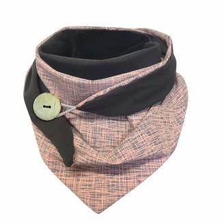 Hiser Women's Triangle Scarf Wrap Winter Warm Infinity Fashion Neck Warmer Scarves Unisex Shawl Button Soft Classic Retro Oversized (blue 135-175cm)