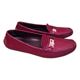 Prada Red Exotic leathers Flats
