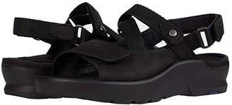 Wolky Lisse (Black Antique Nubuck) Women's Shoes