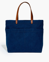Madewell x Hedley & Bennett Leather-Strap Canvas Tote