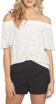 1 STATE Women's 1.state Flounce Off The Shoulder Blouse