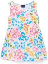 Sweet & Soft White Floral A-Line Dress - Toddler & Girls