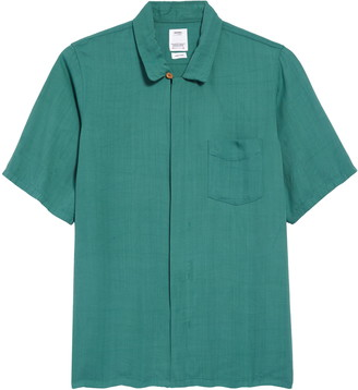 Visvim Free Edge Short Sleeve Button-Up Camp Shirt