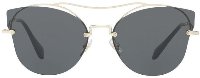 Miu Miu MU 52SS 404589 Sunglasses Gold