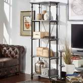 Homevance HomeVance Derry Narrow 4-Shelf Bookcase